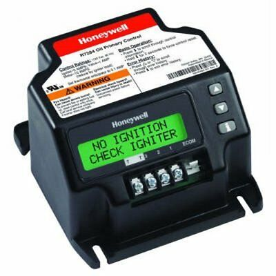 Honeywell R7284U-1004 Universal Electronic Oil Primary with Programmable