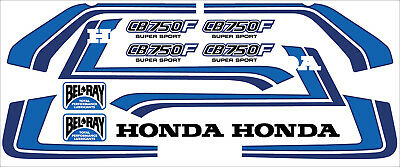 Dekorsatz Decals Honda CB 750 F Bol d'or Dekor Freddy Spencer