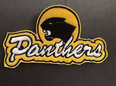Patch Nottingham Panthers 80' Style - Elite Ice Hockey League - England - Eihl