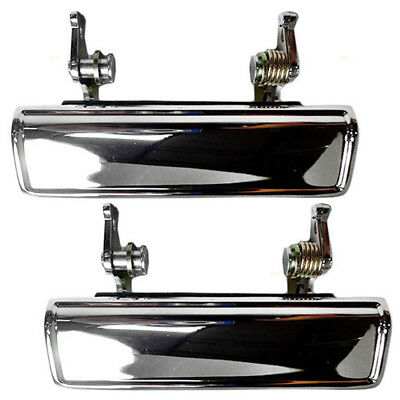 Dodge Plymouth Chrysler Set of Outside Outer Front Chrome Door Handles 4419009