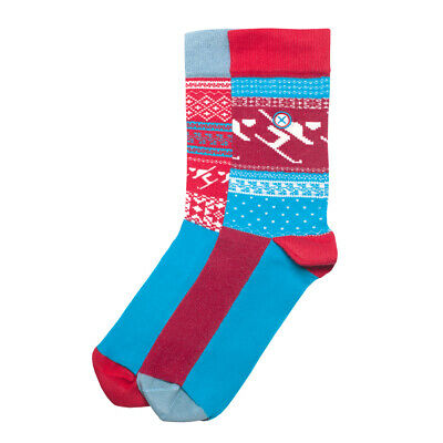 ODSX Cotton rich socks, style Skier. Perfect Christmas stocking filler RRP £10