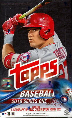2018 Topps Baseball Series 1, S1 Complete Your Set Pick 25 Cards From List