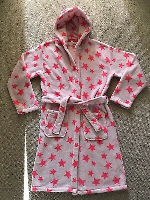 Girls NEXT Soft Fleece Dressing Gown Robe Age 13-14 Years Teenage VGC!