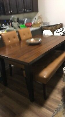 Prime Pier 1 Dining Table 2 Chairs Bench Interior Design Ideas Gentotryabchikinfo