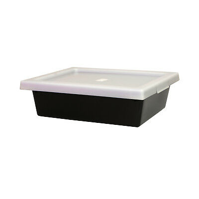 Ingredient Storage Tub Black 13.5L & Lid Okka Food Grade Container Box Tubs
