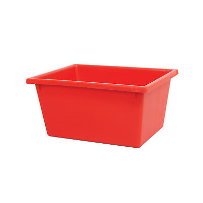 Ingredient Storage Tub Red 22L Okka Food Grade Container Box Tubs No Lid