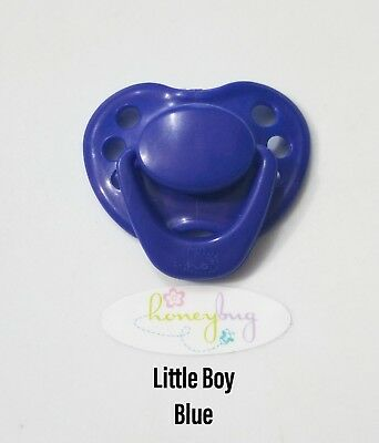 Honeybug Reborn Baby Doll Magnetic Pacifier Reversible Magnet Hidden In Cap!