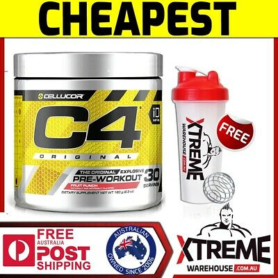 Cellucor C4 Id Series 30 Srv Pineapple// Pre Workout Energy Focus Pumps Caffeine