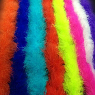 2M Colors Feather Strip Fluffy Clothing Costume Fancy Dress Party Acc DIY Decor