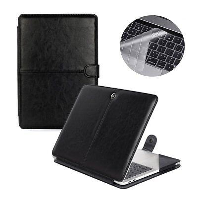 Se7enline Macbook Pro 2016 2017 2018 Case Premium Quality PU Leather Book Cov...