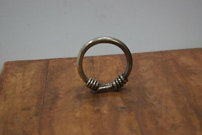 Chinese Bracelet Miao Silver Wrapped Coil Bangle