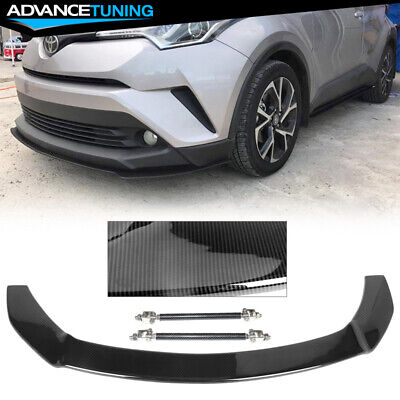 Fits 17-18 Toyota CHR MD 4 Piece Taillight Covers Carbon Fiber Look