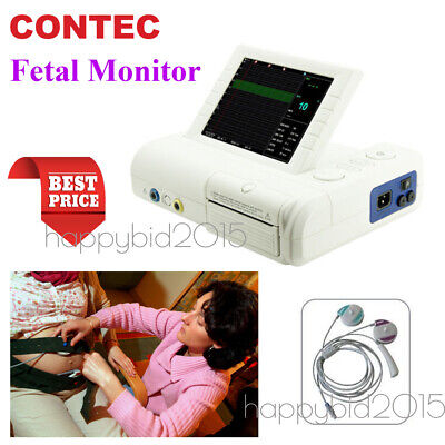 2018 CE CMS800G Fetal Monitor Prenatal Heart FHR TOCO Fetal Movement Printer