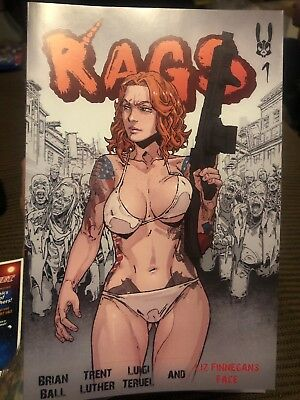 RAGS #1 Normie Self-Published NM Censored POD
