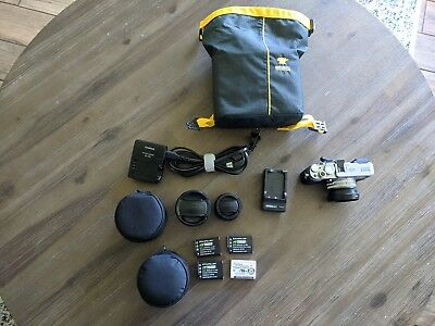 Fujifilm X100S 16.3MP Digital Camera - with both lens conversions (TCL & WCL)