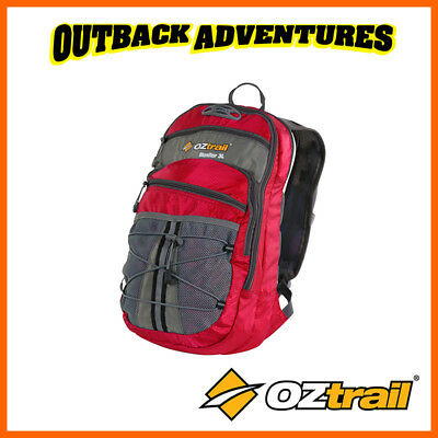Oztrail Monitor 3 Litre Hydration Hiking Back Pack Bladder New Red 3L