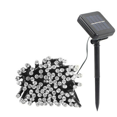 50-200 LED Solar Powered Fairy String Light Xmas Party Garden Outdoor  BYM
