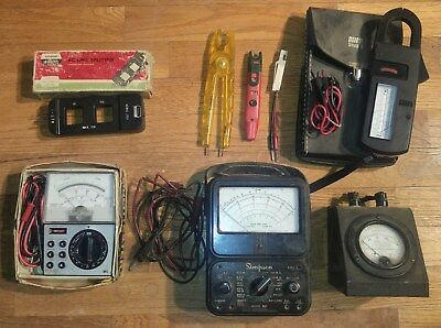 Electrical Test Equipment Antique Weston Instrument Simpson Meter More Lot Ibew