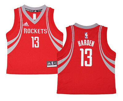 best service 6039a d8b52 TODDLER JAMES HARDEN #13 Houston Rockets NBA Adidas Red Replica Jersey