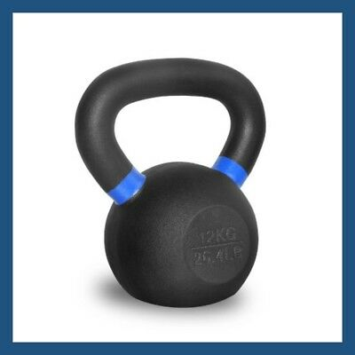 12kg Classic Powder Coated Cast Iron Russian Style KettleBell