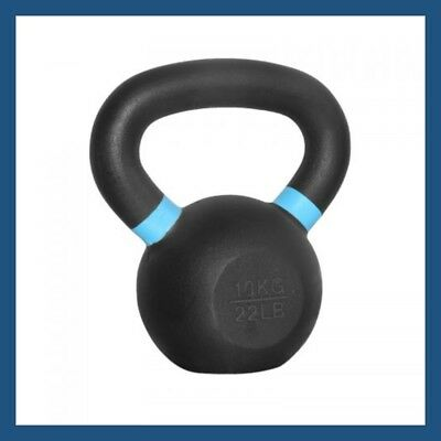 10kg Classic Powder Coated Cast Iron Russian Style KettleBell