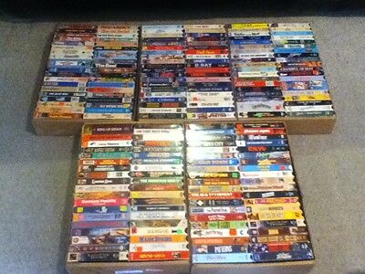 Lot of 200+VHS Classic Movies-You Pick 10! (See Description for Selections)