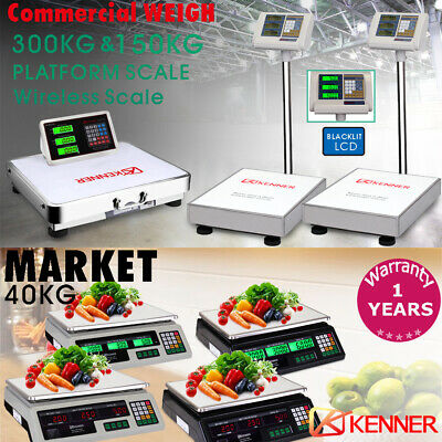KENNER Electronic Digital Scale Commercial Shop Platform Kitchen Scales