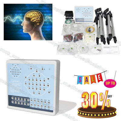 24 Channels EEG machine CONTEC KT88-2400 Digital Brain Activity Mapping,2 tripod