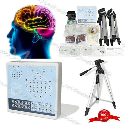 CE 24 Channel Digital EEG Mapping Systems EEG Machine+Software