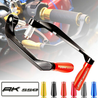 """Motorcycle 7/8"""" Brake Clutch Lever Protector Hand Guard For KYMCO AK550 AK 550"""