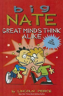 Big Nate: Great Minds Think Alike by Lincoln Peirce (English) Prebound Book Free