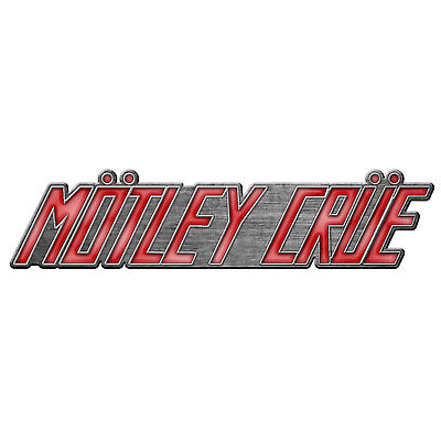 Pin Mötley Crüe Too Fast for Love Logo   200745 #