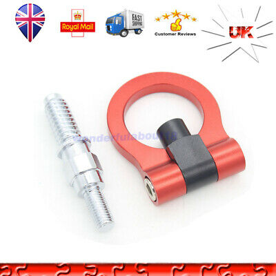 Car Trailer Hook Ring Eye Race Tow Towing Front Rear European Model For BMW