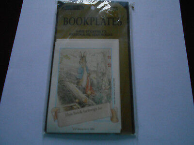 Antioch Peter Rabbit 12 Pack Bookplates  Vintage 1991