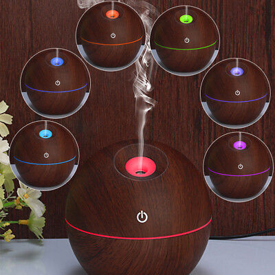 Essential Oil Aroma Diffuser Ultrasonic Humidifier Aromatherapy LED Purifier CHG
