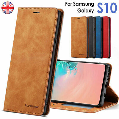 For Samsung Galaxy Note9 S9 S8 Luxury Slim Leather Wallet Flip Case Stand Cover