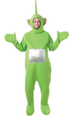 Adult Dipsy Teletubbies TV Funny Stag Night Group Fancy Dress Costume