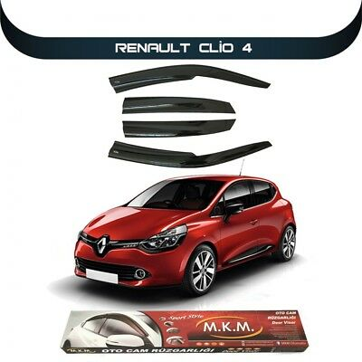 2012 Onwards RENAULT CLIO IV WIND & RAIN & SMOKE DEFLECTOR