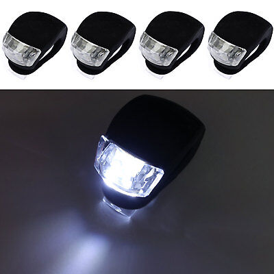 BUG LED Bike Bicycle Glow frog Light head front rear tail frame bar safety lamp