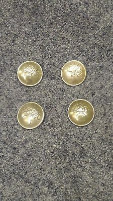 WWI French Button, unpainted Small Early War Brass Variation, by the each