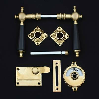 Antique style Door handle for Bathroom Toilet Brush Set JCB