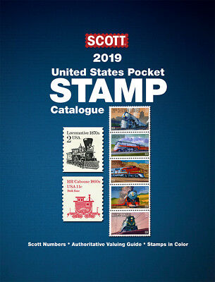 Scott USA pocket stamp Catalogue 2019 edition BRAND NEW EDITION