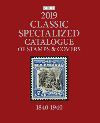 SCOTT ALL WORLD CLASSIC STAMP CATALOGUE 2019 edition BRAND NEW EDITION