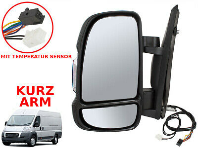 Fiat Ducato Citroen Jumper 06- Aussenspiegel Elektrisch Temperature Sensor Links