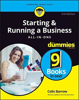 Barrow, Colin-Starting & Running A Business All-In-One For Dummies BOOK NEW