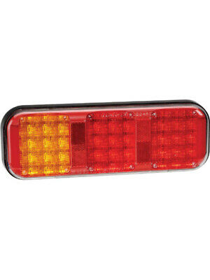 Narva 9-33 Volt LED Rear Twin Stop/Tail And Direction Indicator Lamp (94202)