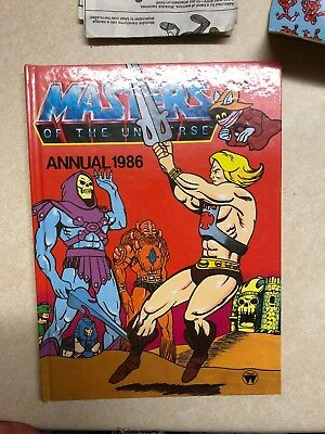 Masters Of The Universe Annual 1986
