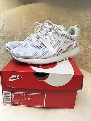 pretty nice 62d50 af2c4 Nike Roshe One Hyperfuse BR Gr 39 Weiss White Pure Platinum 1 x Getragen