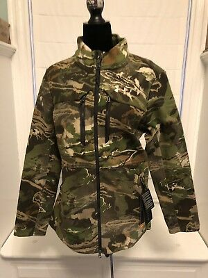 29ab1295c95b8 Under Armour Women's UA Wool Mid Season Forest Hunting Jacket Coat MSRP  $250 NEW