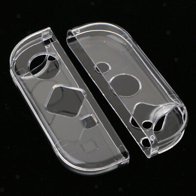 Prettyia TPU Protective Case Shell Housing for Nintendo Switch Joy-Con Clear